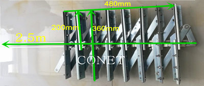 Hardware for PVC Strip Curtain