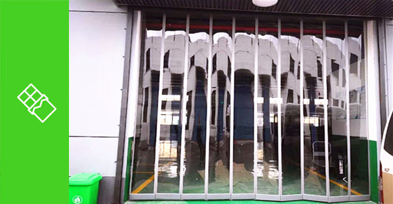 Magnetic PVC Strip Curtains